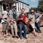 Zydeco Blanco, a band that regularly appears at Old 300 BBQ